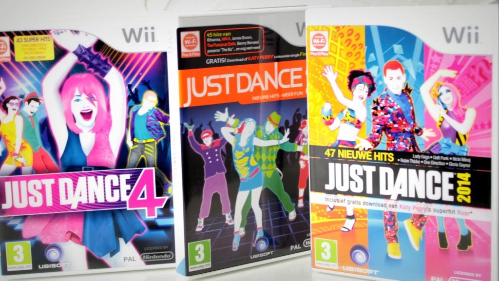 just dance 2 4 5