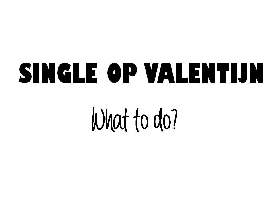 single op valentijn