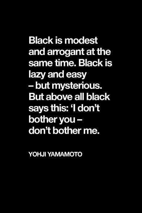 Black-Quote-Yohji-Yahmomoto