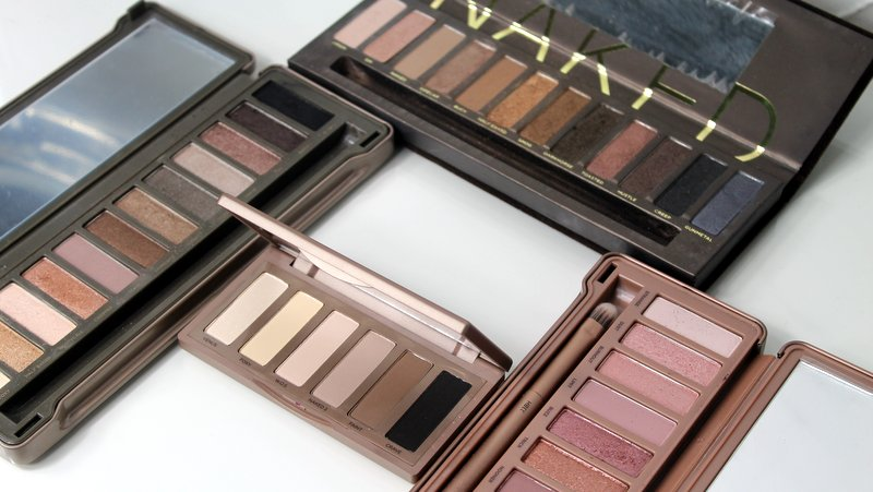 all urban decay naked palettes