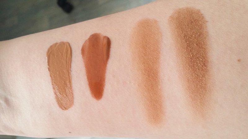 Van links naar rechts: Dior Nude Glow