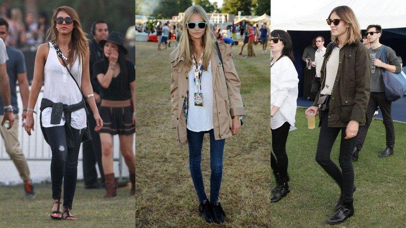 Schoenen festival regen