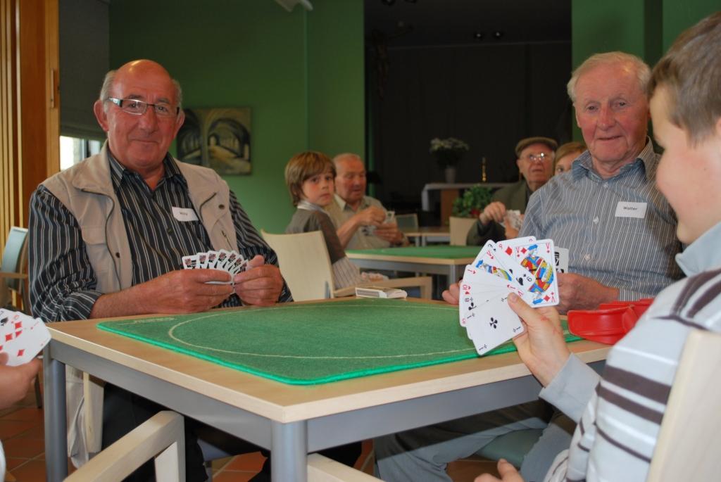 In West-Vlaanderen zijn er zelfs manillen-kampioenschappen. © Gemeente Wielsbeke