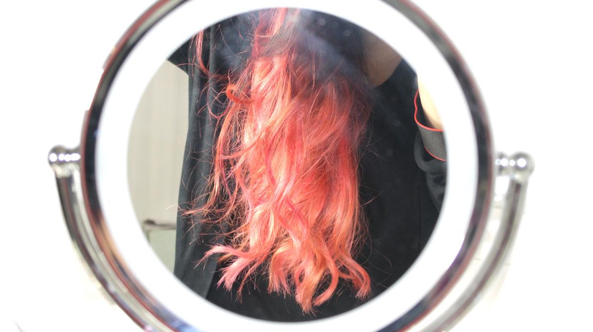 Mocht je het gemist hebben: dit was mijn haar op dag één.