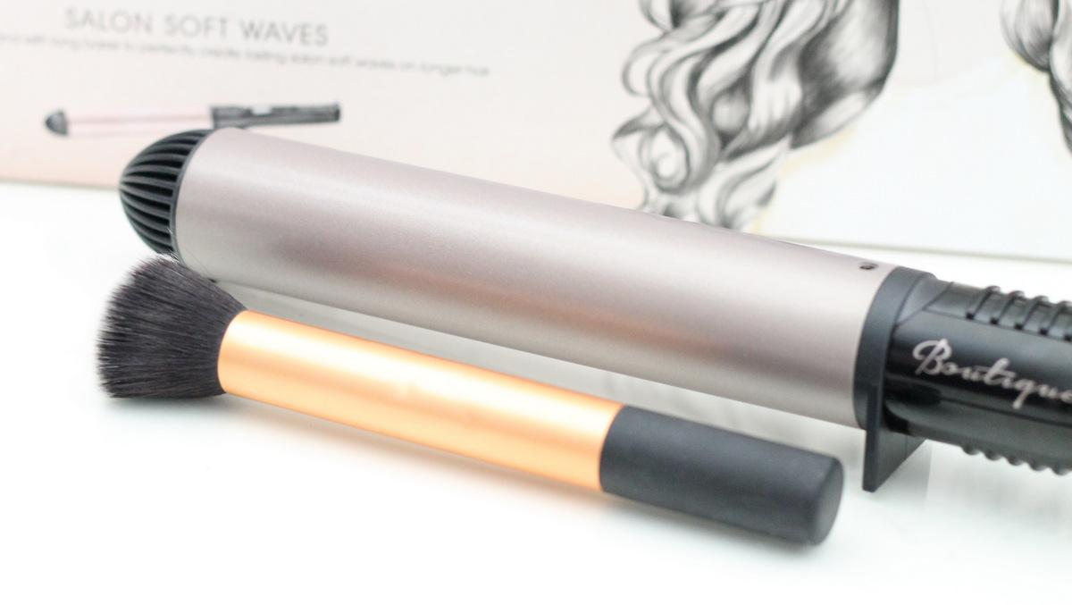 Ter vergelijking: de Soft Waves Wand vs de RT Buffing Brush