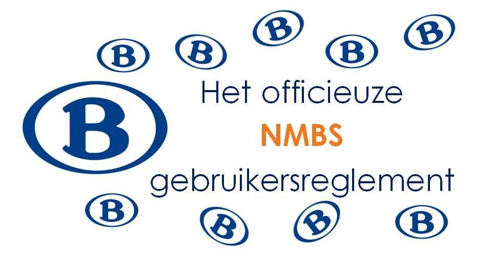 Het officieuze NMBS gebruikersreglement